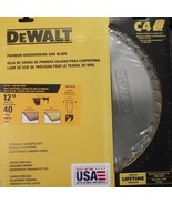 DEWALT DW7639 12' x 40 FTG Glue Line Rip Saw Blade 20-Degree Rake USA - $44.55