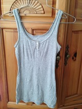 81bfeeab9676b women  39 s grey tank top by Mossimo supply co size medium beautiful  condition