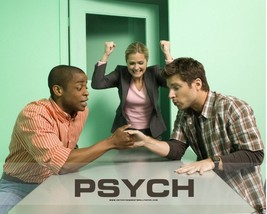 JAMES RODAY DULE HILL CAST OF PSYCH TV LOGO 8X10 PHOTO 9F-441 - $15.83