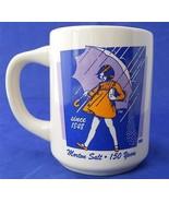 Retro 1968 Morton Salt Girl Coffee Cup Mug Ad C... - $12.46