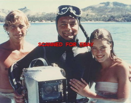 BROOKE SHIELDS CHRIS ATKINS ON THE SET BLUE LAGOON CANDID PX 5R-284 Pret... - $15.83