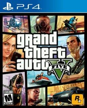 Grand Theft Auto V Five 5 Sony PlayStation Video Game Storytelling Missi... - $60.73