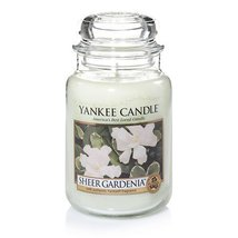 Yankee Candle Sheer Gardenia Large Jar Candle [Kitchen] - $28.37