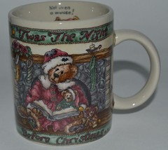 1999 The Boyds Bear Collection ~ Twas Night Before Christmas ~ Coffee Cup Mug - $21.95