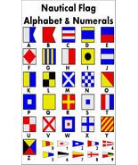 Nautical Alphabet Flags Fridge Magnet - $3.95