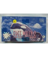 Free Willy 2 Keiko Orca Whale Trading Cards SkyBox Box 36 Packs 1995 War... - $12.99