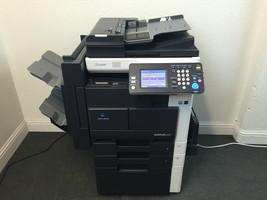 Konica Minolta Bizhub 222 Copier Printer Scanner Network & Staple Finisher - $1,291.95