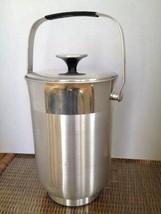 Vintage Aluminum Ice Bucket Mid Century Modern Italy - $8.90