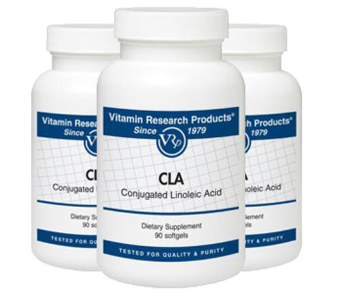 CLA Conjugated Linoleic Acid - 1,000 mg by Vitamin Research Products