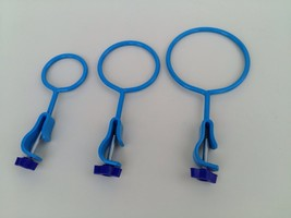 3x Retort Ring with Holder Clamp Support Lab Ring Clamps size 50mm 75mm ... - $11.29