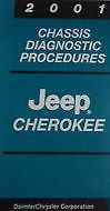 2001 JEEP CHEROKEE Chassis Diagnostic Procedures Manual Factory OEM BOOK 2001