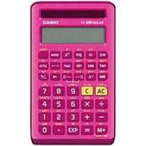 Casio FX-260SOLARII-PK 10-Digit Display Scientific Calculator - Pink - $25.55