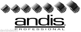 Andis ML,GC,MBA,SM MASTER PRO CLIPPER Blade Clip On Guide Guard Combs 7 ... - $32.99