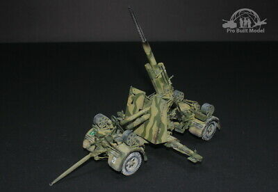Primary image for German 88mm Gun Flak 36/37 WWII 1:35 Pro Built Model