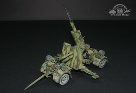 German 88mm Gun Flak 36/37 WWII 1:35 Pro Built Model - $282.15