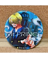 One Piece Can Badge Button Vinsmoke Sanji Yakara BLUE Eiichiro Oda Anime... - $29.69