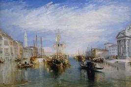 Venice, from the Porch of Madonna della Salute, ca. 1835 by Joseph Turner - Art  - $19.99+