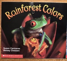 Paperback Book Science Vocabulary Readers Scholastic Rain forest Colors Teacher - $7.92