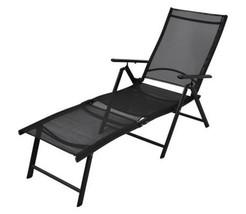 Outdoor Sun Lounger Garden Folding Seat Beach Chair With Adjustable Back... - $142.29