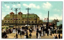Early 1900s Auditorium, Long Beach, CA Postcard  - $9.28