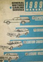 1989 Chevy Caprice Wagon Sedan Safari Lesabre Wagon Olds Crucero Servici... - $11.90