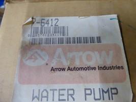 Honda Water Pump Remanufactured By Arrow P/N 7-6412, 19200-PH1-000 image 2