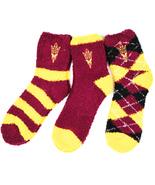 Arizona State Sun Devils 3 Piece Fuzzy Sock Bundle - $27.95