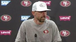 NEW ERA San Francisco 49ers Shanahan Trucker 9FIFTY Snapback Hat White *... - $85.03