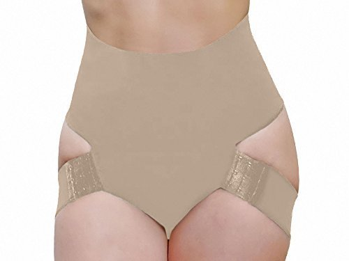 Butt Lifter Panty Booty Enhancer Tummy Control Body Shaper (5XL, Beige)