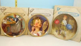 Norman Rockwell & J.McClelland Plates Rockwell's Rediscovered Women & St... - $18.81