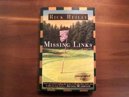 RICK REILLY MISSING LINKS SIGNED AUTOGRAPHED COPY BOOK 1996 COPYRIGHT - $69.29