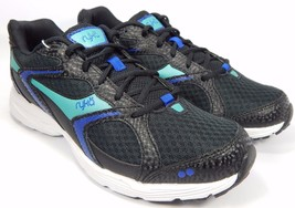 Ryka Streak SMR Women's Running Shoes Size US 10 M (B) EU 41.5 Black Aqua Blue