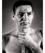 TERRY SAWCHUCK 8X10 PHOTO HOCKEY BOSTON BRUINS PICTURE NHL WITH STITCHES - $3.95