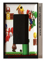 Super Mario brothers 3D Light Switch Duplex Outlet Wall Cover Plate home decor image 4
