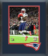 Mohamed Sanu 2019 New England Patriots -11x14 Team Logo Matted/Framed Photo - $42.95