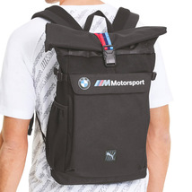BMW M Motorsport Puma Roll Top Bag Utility Lifestyle Backpack 076897-01 image 5