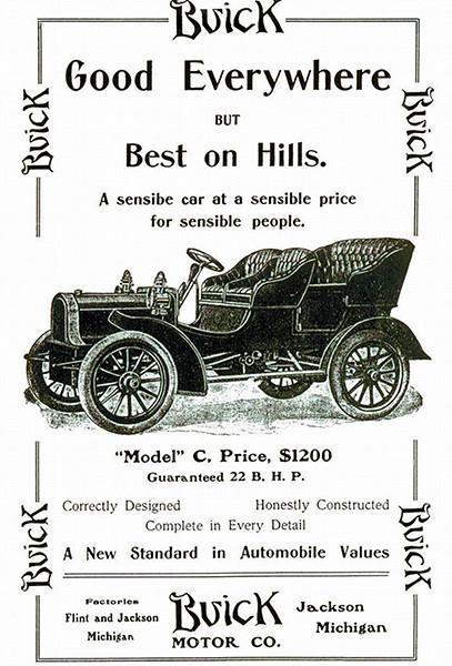 Primary image for 1905 Buick Model C - Promotional Advertising Poster