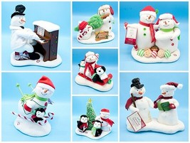 Lot of 7 Hallmark Jingle Pals Snowman VIDEO 2003 2005 2006 2007 2008 201... - $175.00