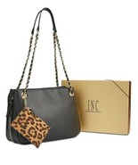 INC International Concepts Deliz Chain-Link Shoulder Bag Gift Box (Black) - $69.20