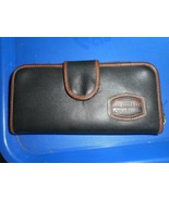 LA MIRADA COLLECTION Faux Leather One Zipper Wallet Purse Card  Bag Clutch - $14.84