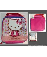 Hello Kitty Pink Insulated Lunch Bag Sanrio Giggles & Hoot NWT - $9.99
