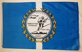 Korean War Veterans 1950-1953 Honor Flag 3' X 5' Indoor Outdoor Military... - $12.95