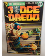 Judge Dredd Vol 1 #8 June 1984 Eagle Comic Boll... - $5.99