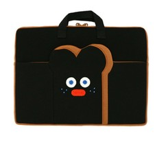 "Brunch Brother Laptop Case Bag Sleeve Pouch Briefcase 15"" to 17"" (Burnt Toast) image 1"