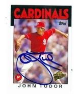 John Tudor autographed Baseball Card (St. Louis Cardinals) 2005 Topps Fa... - $15.00