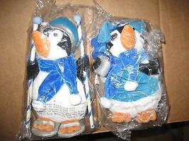 New Creative Enterprises NCE SNOW BUNDLES Penguin Christmas Plush Figure... - $14.99