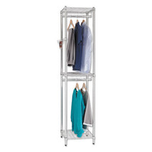 """Wire Shelving Garment Tower, 18w X 18d X 81 3/... - $118.61"