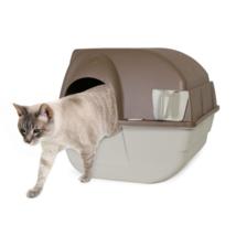 NEW Home Garden Self-Cleaning Cat Litter Box Regular Taupe - $53.99