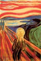 The Scream by Edward Munch Art Poster - $5.90
