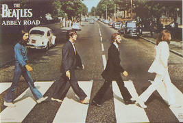 The Beatles Abbey Road Poster - $5.90